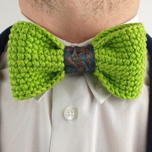 nastistyle-nasti-abbigliamentouomo-negozioonline-shoponline-papillon-fattoamaglia-uncinetto-papillonuncinetto-verdefluo-verde-uncinettoacroce-clip