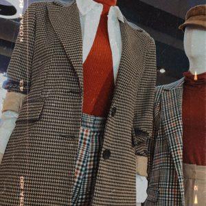 nastistyle-shoponline-abbigliamentodonna-giacca-blazer-blazerascacchi-abbigliamento-acquistaonline-shoponline-moda-stile-giacchina-marrone-blazermarrone-invernale-elegante