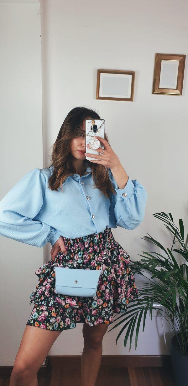 nastistyle-shoponline-abbigliamentodonna-camiciaconborsetta-camicetta-blusa-rosa-cipria-lilla-celeste-azzurro-rosapallido-pastello-camiciaconbottoniargentati-camicettacolorata-fashion-moda